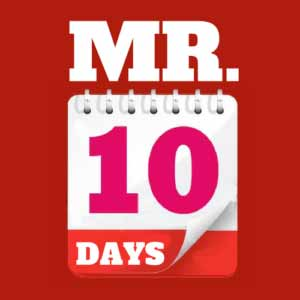 Mr Ten Days - Romantic Comedy Audio MP3s to download
