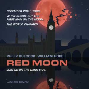 Red Moon Alternative History Sci Fi Audio Drama from Wireless Theatre Ltd