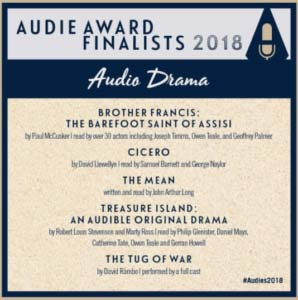 WTC are Audie award finalists 2018