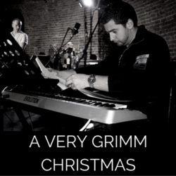 Photots from the live recording of A Very Grimm christmas by Wireless Theatre