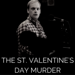 Photots from the live recording of audio drama The St Valentine's Day murder by Wireless Theatre