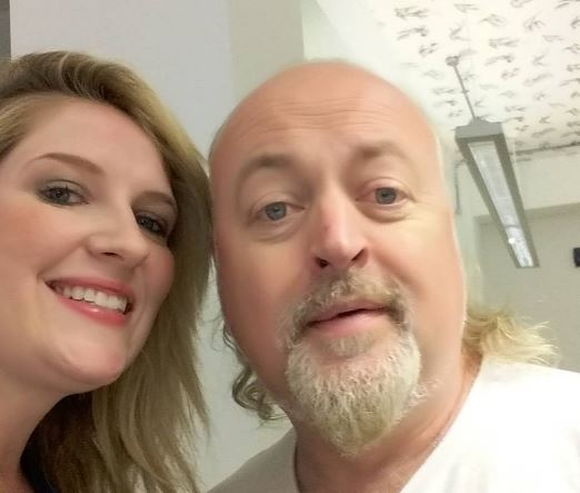 Bill Bailey with Mariele Runacre Temple