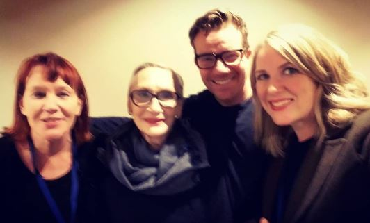 Cherry Cookson, Sian Phillips, Max Beesley, and Mariele Runacre Temple