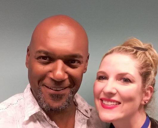 Colin Salmon with Mariele Runacre Temple