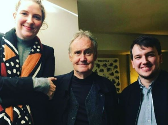 Nigel Planer with Mariele Runacre Temple and Ollie Cookson