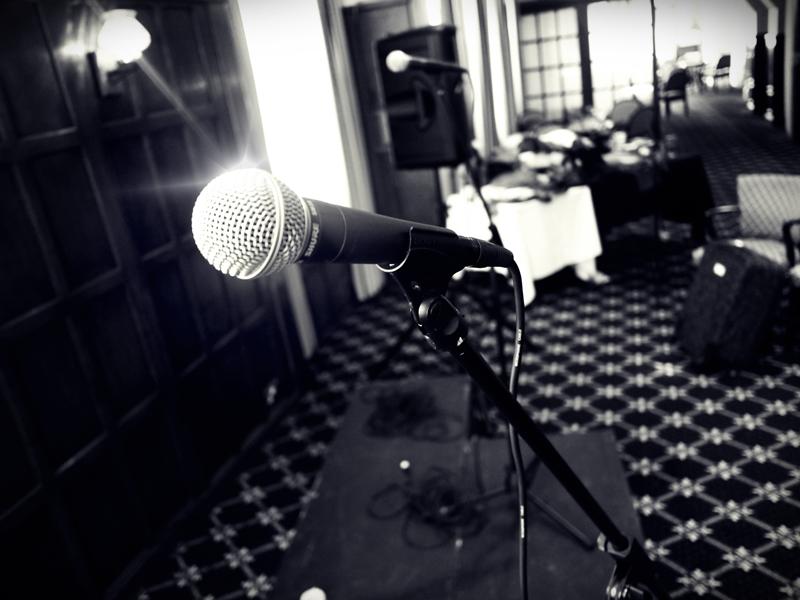 One vital tool, SM58 Microphone