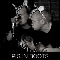 Pig In Boots audio drama live recording photo gallery from Wireless Theatre