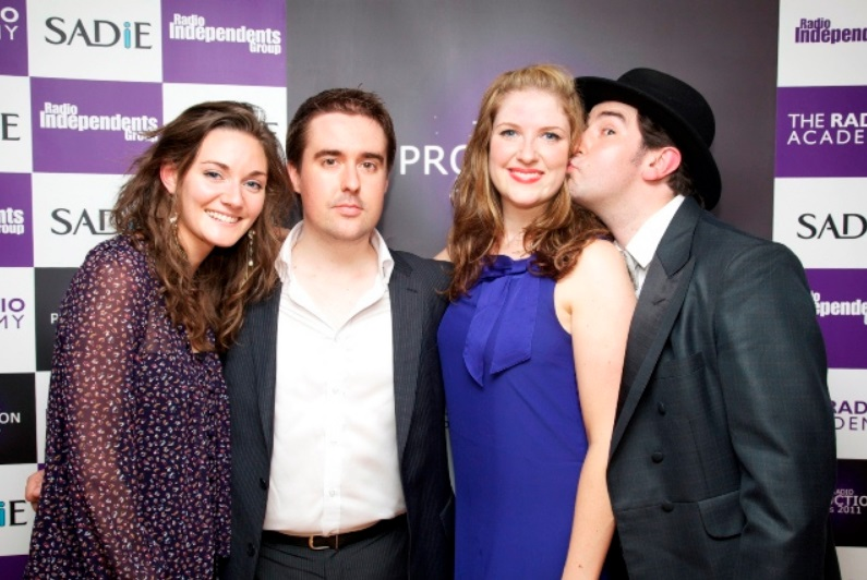 The WTC team at the 2011 Radio awards