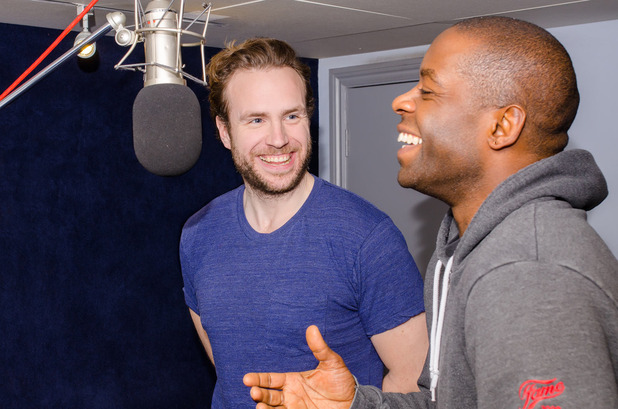 Adrian Lester and Rafe Spall in Amok