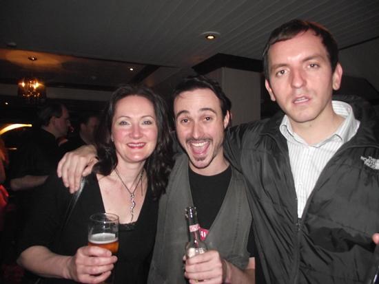 Ann Theato, Matt Blair and Andrew Ward