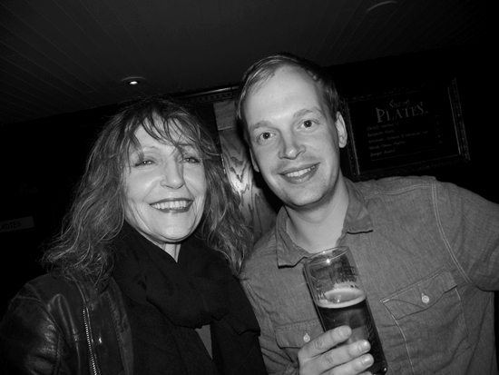 Jenny Runacre and Neil Frost