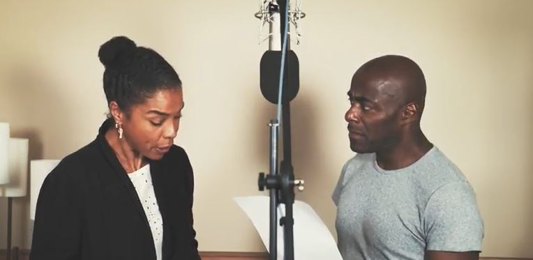 Sophie Okonedo and Paterson Joseph in Murder on the Orient Express