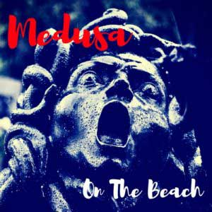 Medusa on the beach