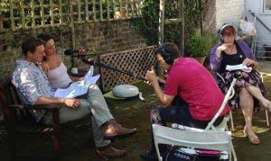 Recording with Wireless Theatre - Cherry Cookson
