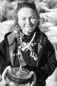 learn a new accent with Specialist Accent Coach Jan Haydn Rowles holding the Best Drama Emmy for Game of Thrones