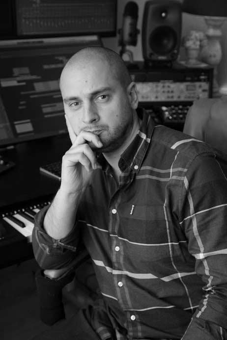 Francesco Quadraruopolo - composing music for audio drama - Wireless Theatre